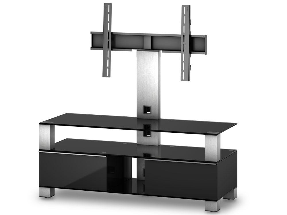 meuble tv sonorous md8123 b inx blk noir laqu avec. Black Bedroom Furniture Sets. Home Design Ideas