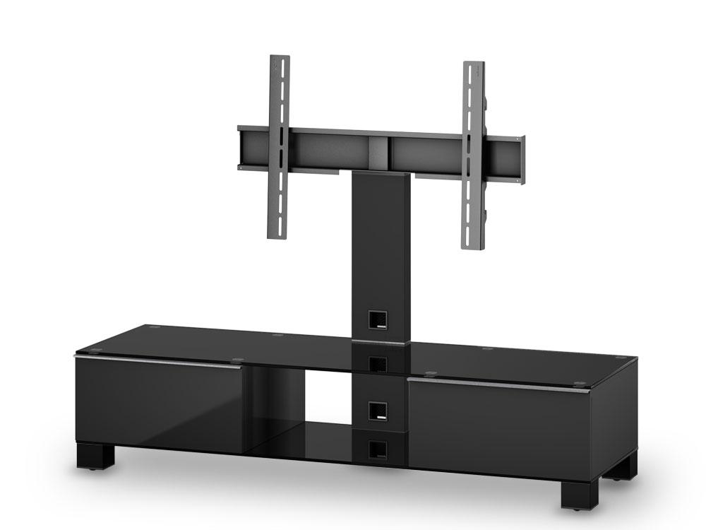 tv m bel sonorous mood md8140 b blk blk. Black Bedroom Furniture Sets. Home Design Ideas