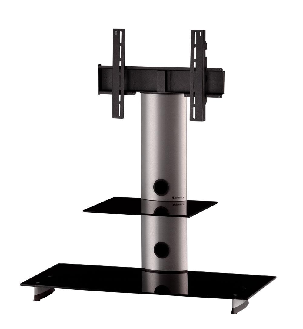 sonorous tv standfuss pl2200 b slv mit halterung fernsehm bel tv lowboard sideboard tv m bel. Black Bedroom Furniture Sets. Home Design Ideas