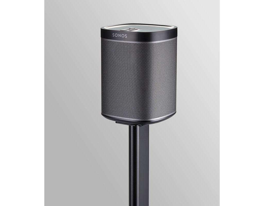 sonorous pied d 39 enceinte sonos play 1 noir meuble tv. Black Bedroom Furniture Sets. Home Design Ideas