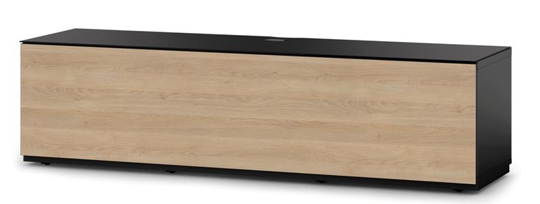 Sonorous TV Möbel Studio | STA160F-BLK-OAK-BS