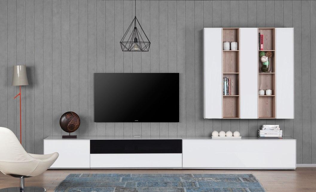 combinaison meuble paroi sonorous elements lc5 meuble tv hifi ch. Black Bedroom Furniture Sets. Home Design Ideas