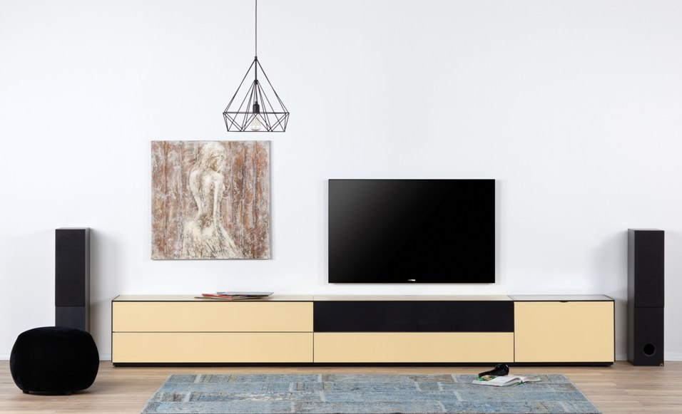 combinaison meuble paroi sonorous elements lc29 meuble tv. Black Bedroom Furniture Sets. Home Design Ideas