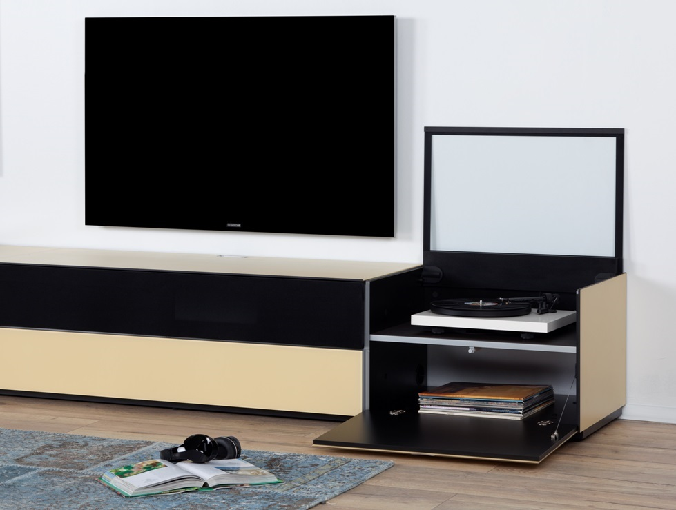 combinaison meuble paroi sonorous elements lc29 meuble tv. Black Bedroom Furniture Sets. Home Design Ideas