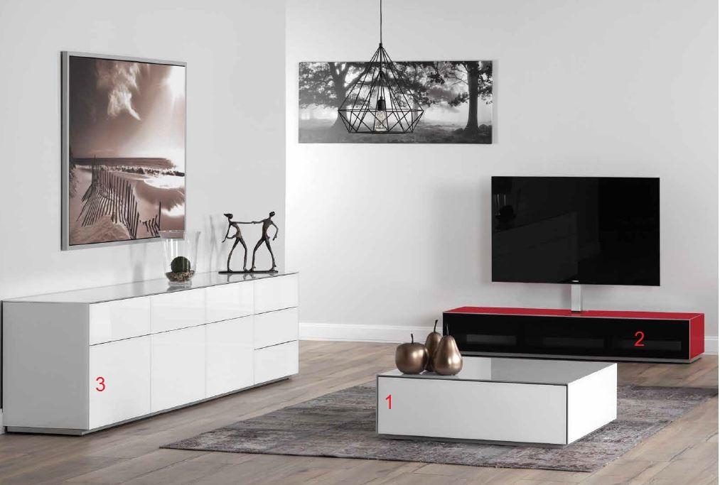 wohnkombination sonorous elements lc31 hifi tv. Black Bedroom Furniture Sets. Home Design Ideas
