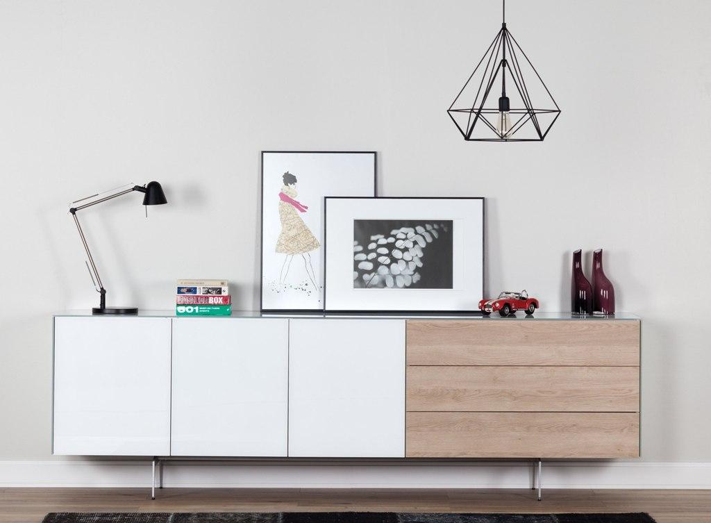 buffet modulaire personnalisable sonorous elements sb k1 b 250cm h 100cm sideboard suisse. Black Bedroom Furniture Sets. Home Design Ideas