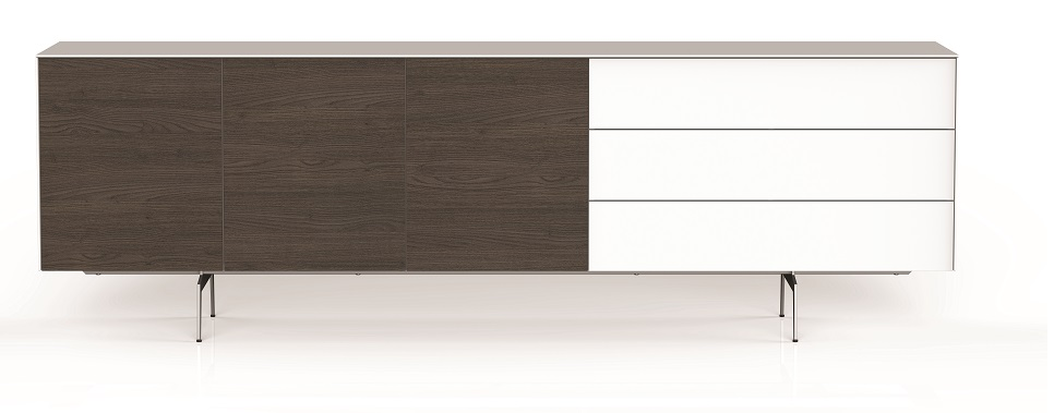 kommode sonorous elements sideboard kombination sb k17 b 260cm h 80cm sideboard schweiz. Black Bedroom Furniture Sets. Home Design Ideas