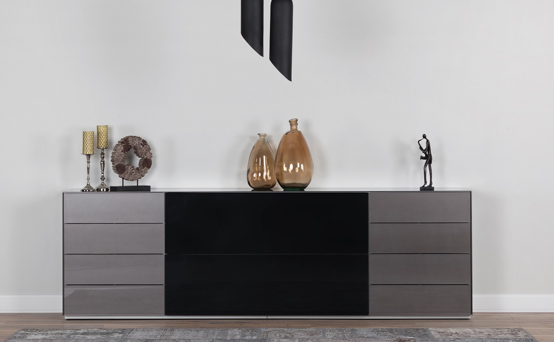 kommode sonorous elements sideboard kombination sb k9 b 260cm h sideboard schweiz. Black Bedroom Furniture Sets. Home Design Ideas
