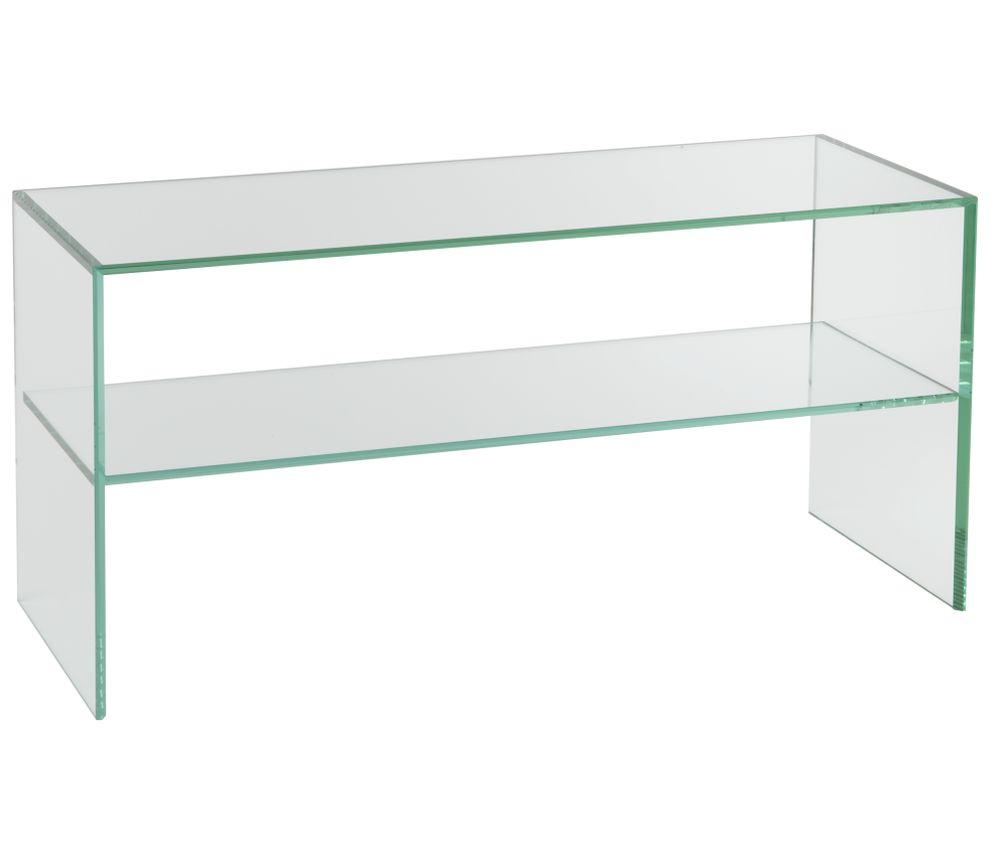 tv m bel tv m bel glas metall audioraq tv m bel canto 1050 klarglas tv lowboard. Black Bedroom Furniture Sets. Home Design Ideas