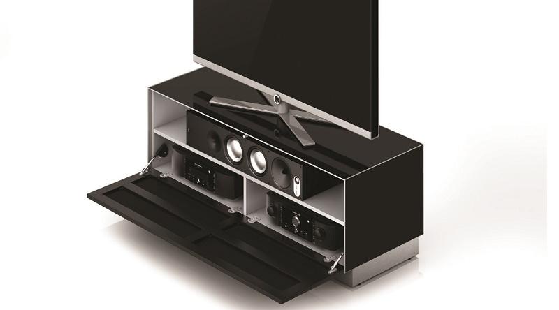 tv lowboard sonorous elements ex10 ts 2 stofffront. Black Bedroom Furniture Sets. Home Design Ideas