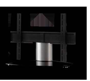 sonorous tv standfuss pl2310 b slv mit halterung fernsehm bel tv lowboard sideboard tv m bel. Black Bedroom Furniture Sets. Home Design Ideas